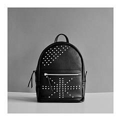 Кожаный рюкзак Sport в байкерском стиле