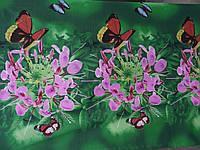Полиэстер Китай 3D Бабочки