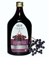 Напиток Бузина черная, Вивасан, очищение организма, повышение защитных сил, Швейцария 500 мл