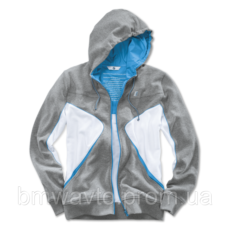 Толстовка унисекс BMW i Unisex Hooded Jacket