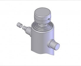 Подкузовной гидроцилиндр Mariz 110-4-550 (5AB)