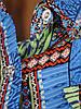Яркая женская рубашка из штапеля (40-46), фото 3