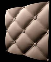 Гипсовые 3D панели для стен Подушка мелкая 50х50