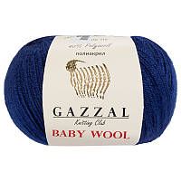Пряжа gazzal baby wool 802 в моточках для ручного вязания