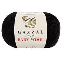 Пряжа gazzal baby wool 803 в моточках для ручного вязания