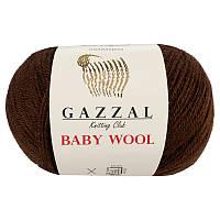 Пряжа gazzal baby wool 807 в моточках для ручного вязания