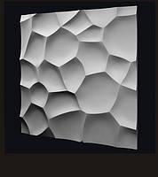 Гипсовые 3D панели настенные Ракушка 50х50