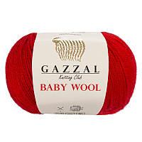 Пряжа gazzal baby wool 811 в моточках для ручного вязания