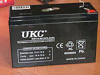 Аккумулятор WST-9.0 ( 12V 9.0AH ) 12В 9,0А*ч для ИБП