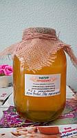 Мед разнотравье первой качки без подсолнуха: акация, липа, фацелия, 3 л. (без сахара, запечатанный)