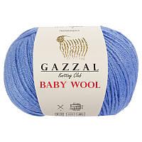 Пряжа gazzal baby wool 813 в моточках для ручного вязания