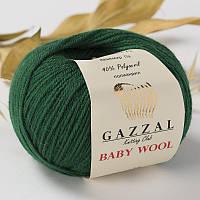 Пряжа gazzal baby wool 814 в моточках для ручного вязания