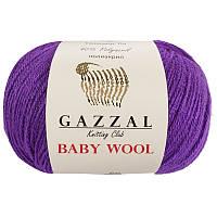 Пряжа gazzal baby wool 815 в моточках для ручного вязания