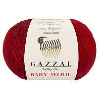 Пряжа gazzal baby wool 816 в моточках для ручного вязания