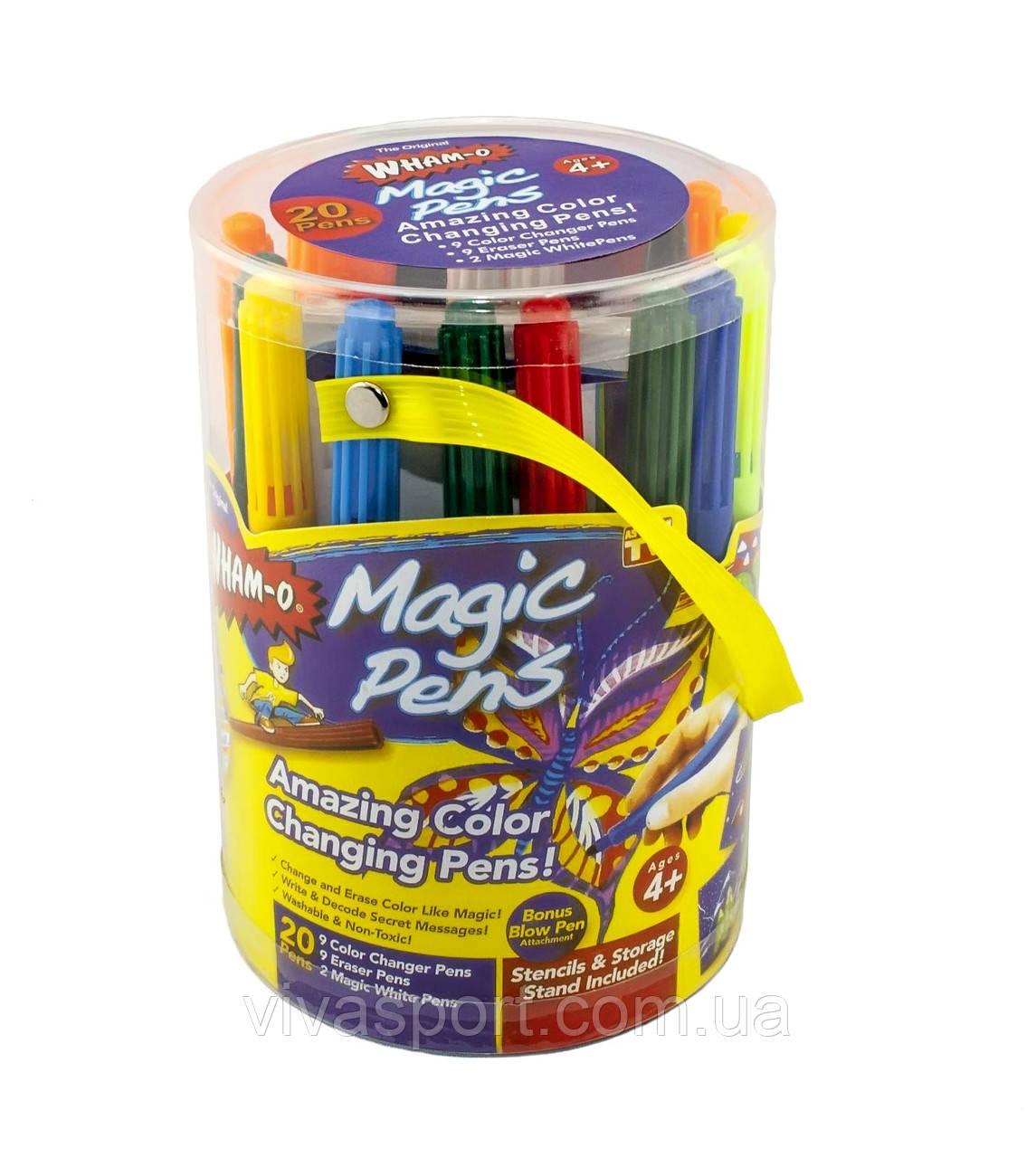 Волшебные экологические фломастеры для детей Magic Pens 20 шт., Меджик Пенс