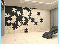 Гипсовые 3D панели настенные Пазлы 30х50