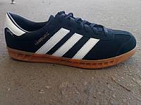 Кроссовки мужские замшевые Adidas Hamburg реплика 40 -45 р-р, фото 1