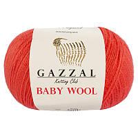 Пряжа gazzal baby wool 819 в моточках для ручного вязания