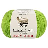 Пряжа gazzal baby wool 821 в моточках для ручного вязания