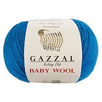 Пряжа gazzal baby wool 822 в моточках для ручного вязания
