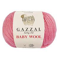 Пряжа gazzal baby wool 828 в моточках для ручного вязания