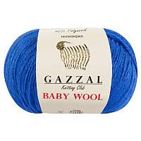 Пряжа gazzal baby wool 830 в моточках для ручного вязания