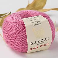Пряжа gazzal baby wool 831 в моточках для ручного вязания