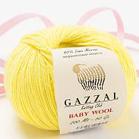 Пряжа gazzal baby wool 833 в моточках для ручного вязания