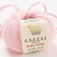 Пряжа gazzal baby wool 836 в моточках для ручного вязания