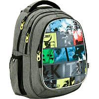 Рюкзак Kite K17-801L-3 801 Take'n'Go-3 школьный подростковый на два отдела 43см х 33см х 23см