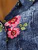 Свободная рубашка с цветочным принтом (в расцветках 38, 44), фото 2