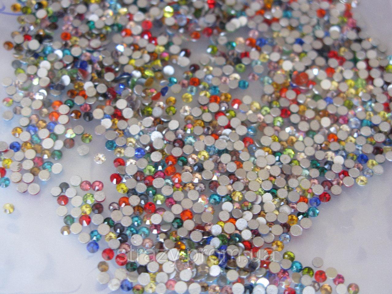Стразы Swarovski цветные № 2, 1440 шт