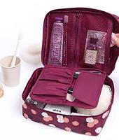 Многофункциональная складная сумка-органайзер (для белья/одежды/косметики и др.), удобно в дорогу