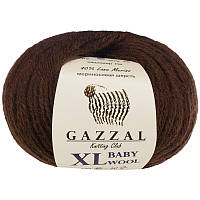 Пряжа gazzal baby wool 807 XL в моточках для ручного вязания