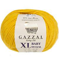 Пряжа gazzal baby wool 812 XL в моточках для ручного вязания