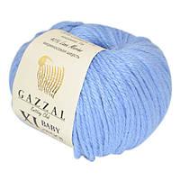 Пряжа gazzal baby wool 813 XL в моточках для ручного вязания