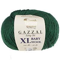 Пряжа gazzal baby wool 814 XL в моточках для ручного вязания