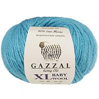Пряжа gazzal baby wool 820 XL в моточках для ручного вязания