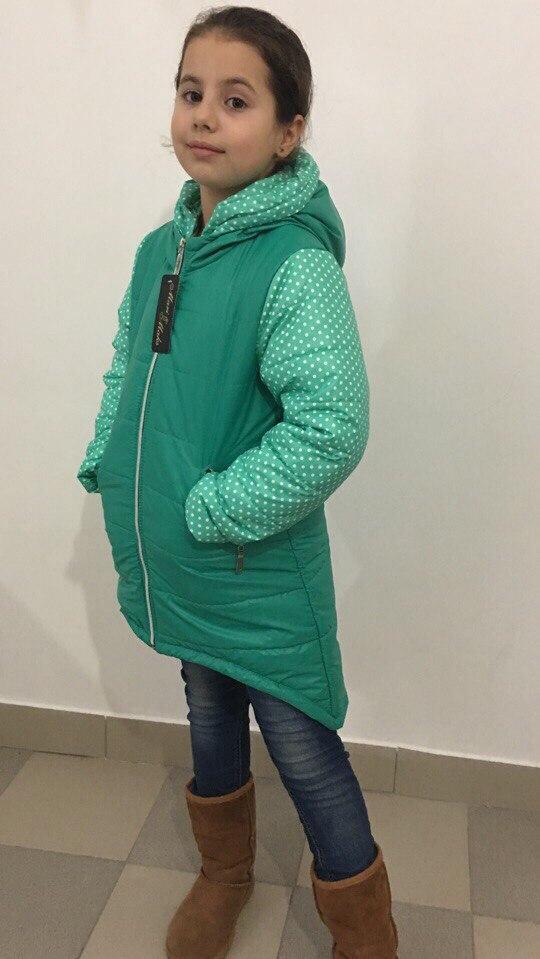 Куртка детская на синитипоне демисезонная.