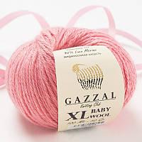 Пряжа gazzal baby wool 828 XL в моточках для ручного вязания