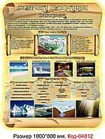 Стенд по географии Код-04012