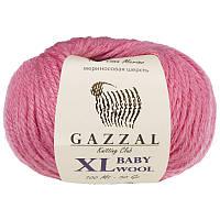 Пряжа gazzal baby wool 831 XL в моточках для ручного вязания
