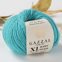 Пряжа gazzal baby wool 832 XL в моточках для ручного вязания