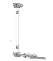 Внутренний штанговый запорный замок на 16-18 мм
