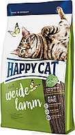 Happy Cat Supreme Weide Lamm 10кг - корм для взрослых кошек с ягненком