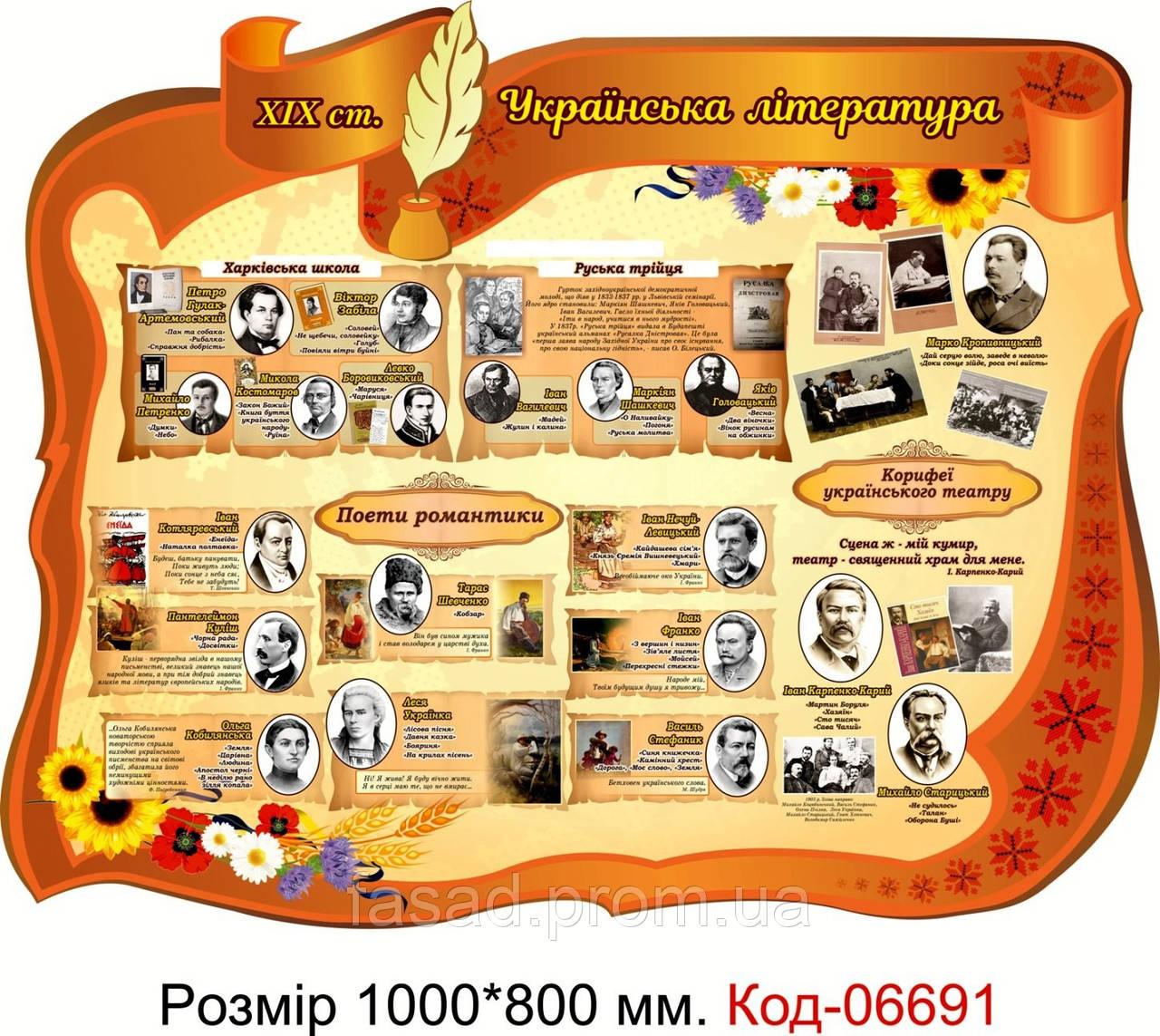 Пластиковий стенд Код-06691