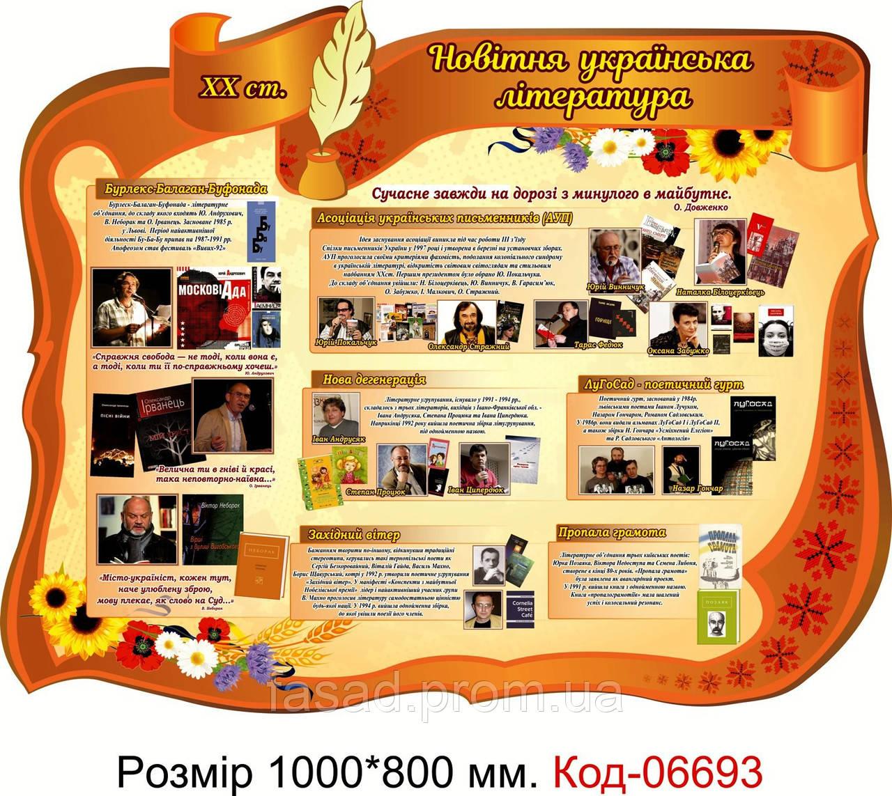 Пластиковий стенд Код-06693