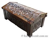 Деревянная шкатулка, куфер, скринька, сундук,