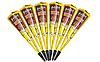 Хна для мехенди коричневая Golecha 25 г. Конус