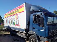 Тент ПВХ на грузовой автомобиль MANN, фото 1